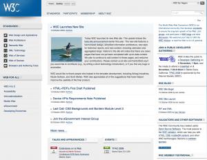 Site Web du W3C